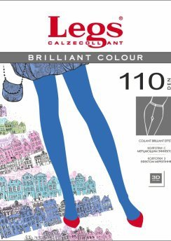 501 Колготы BRILLIANT COLOUR 110 DARK BLUE